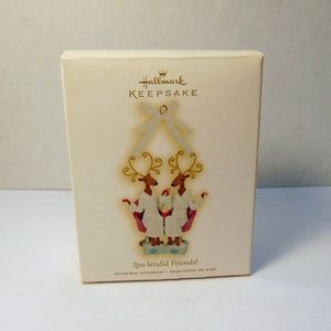 Hallmark Holiday - Hallmark Keepsake Spa-Lendid Friends Ornament